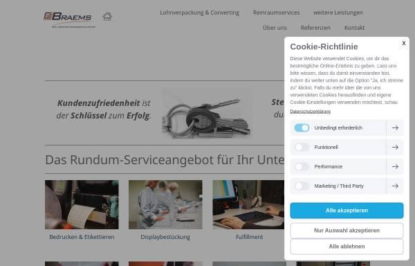 Vorschau von www.braems.de, Braems Lohnbetrieb GmbH