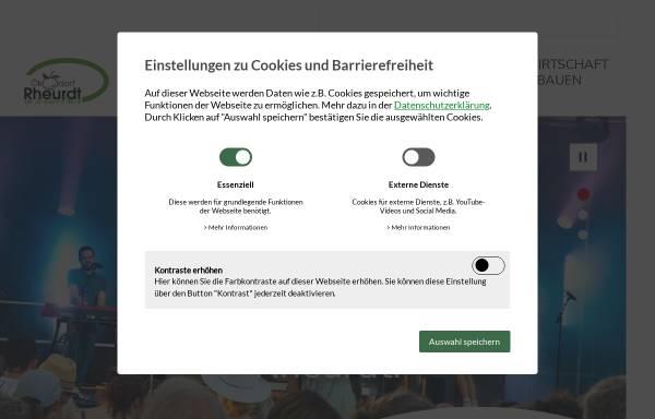 Vorschau von www.rheurdt.de, Rheurdt