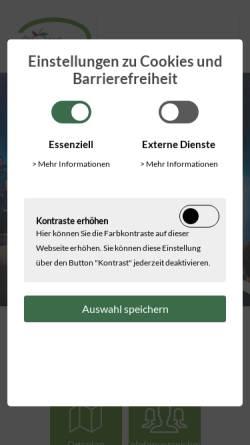 Vorschau der mobilen Webseite www.rheurdt.de, Rheurdt