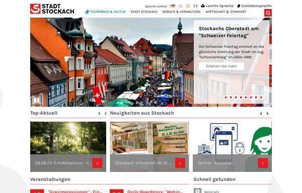 Vorschau von www.stockach.de, Stadt Stockach