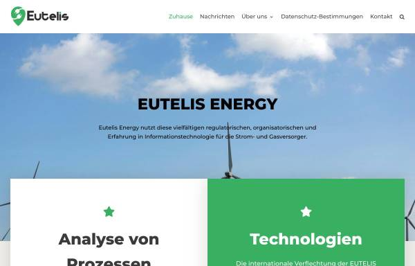 Vorschau von www.eutelis.de, Eutelis Energy GmbH