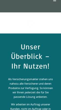 Vorschau der mobilen Webseite www.abacus-assekuranz.de, Abacus Assekuranzmakler