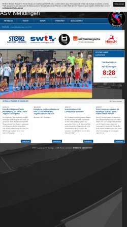 Vorschau der mobilen Webseite www.asv-nendingen.de, ASV Nendingen