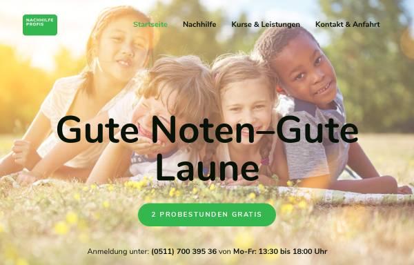 Vorschau von www.nachhilfeprofis-hannover.de, Nachhilfe Profis