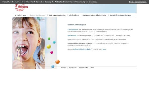 Vorschau von www.zahngesundheit-do.de, Arbeitskreis Zahngesundheit Dortmund