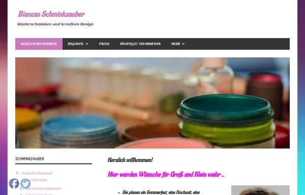 Vorschau von www.kinderschminken-neuss.de, Kinderschminken Neuss, Bianca Seidler