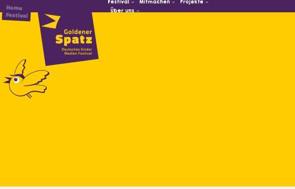 Vorschau von www.goldenerspatz.de, Goldener Spatz Gera