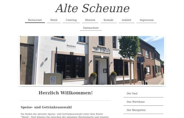 Vorschau von www.alte-scheune.info, Alte Scheune