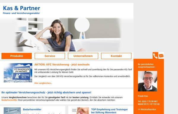Vorschau von www.kas-und-partner.de, KAS & Partner, Finanz- und Versicherungsmakler