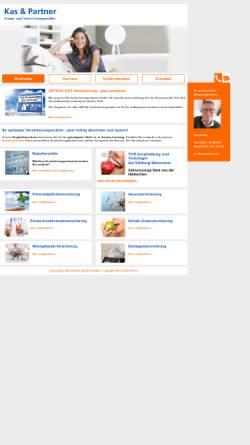 Vorschau der mobilen Webseite www.kas-und-partner.de, KAS & Partner, Finanz- und Versicherungsmakler