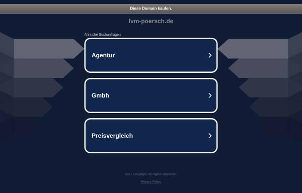 Vorschau von www.lvm-poersch.de, LVM-Versicherungsbüro D. Poersch