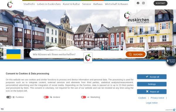 Vorschau von www.euskirchen.de, Euskirchen