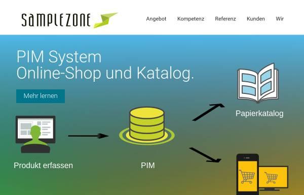 Vorschau von www.samplezone.ch, SampleZone Gmbh