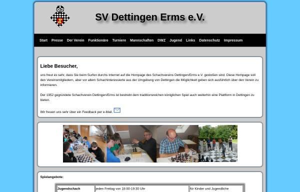 Vorschau von www.svdettingen.schachvereine.de, Schachverein Dettingen Erms e.V.