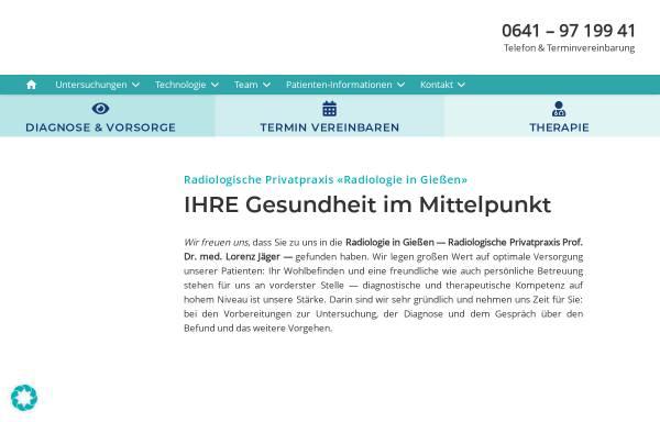 Vorschau von www.radiologie-in-giessen.de, Radiologie an der Johanneskirche
