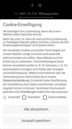 Vorschau der mobilen Webseite schiffergesellschaft.de, Schiffergesellschaft