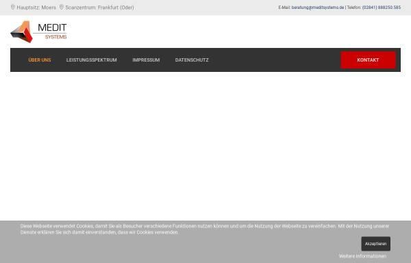 Vorschau von www.meditsystems.de, MeditSystems