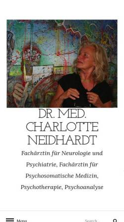 Vorschau der mobilen Webseite www.drneidhardt.de, Praxis Dr. med. Neidhardt