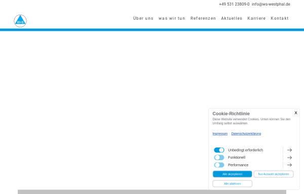 Vorschau von ws-westphal.de, W+S Westphal Ingenieurbüro für Bautechnik GmbH