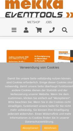 Vorschau der mobilen Webseite eventtool24.com, EVENTTOOL24 e.K.