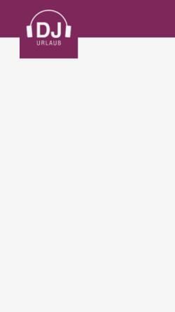 Vorschau der mobilen Webseite www.djurlaub.de, DJ Urlaub