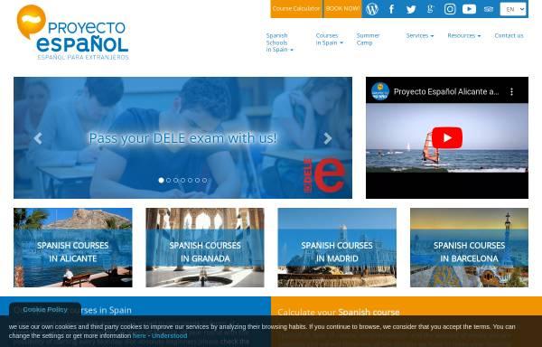 Vorschau von proyecto-es.com, Proyecto Espanol