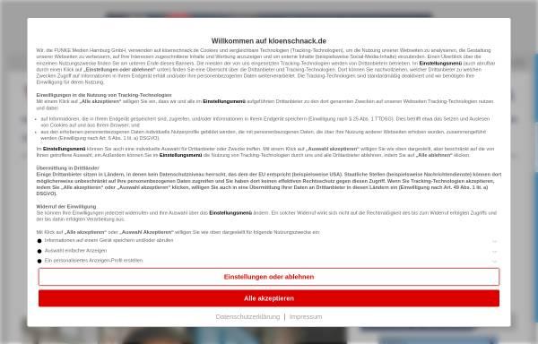 Vorschau von www.kloenschnack.de, Klönschnack