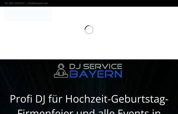 Vorschau von www.dj-service-bayern.de, DJ-Service Bayern, Benjamin Baur