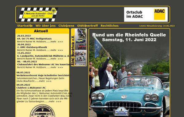 Vorschau von www.walsumerac.de, 1. Walsumer Automobil-Club e.V. im ADAC