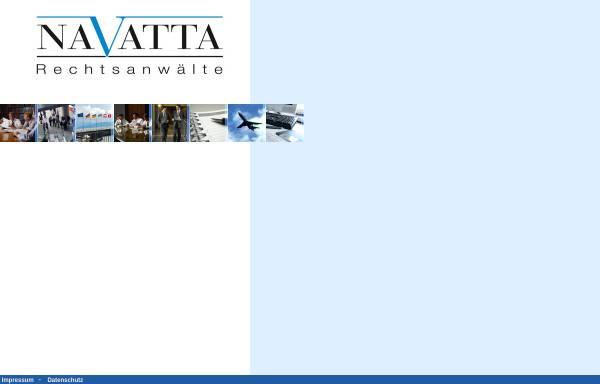 Vorschau von www.navatta.de, Navatta