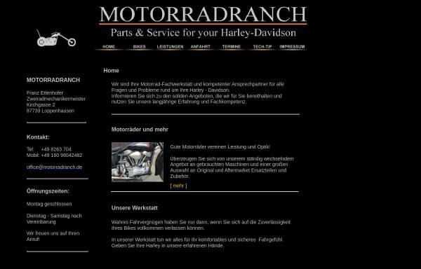 Vorschau von www.motorradranch.de, Motorradranch