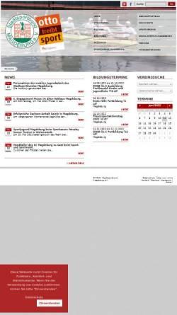 Vorschau der mobilen Webseite www.ssb-magdeburg.de, Stadtsportbund Magdeburg e.V.