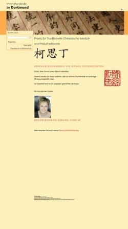 Vorschau der mobilen Webseite www.aku-do.de, Kerstin Lüdecke