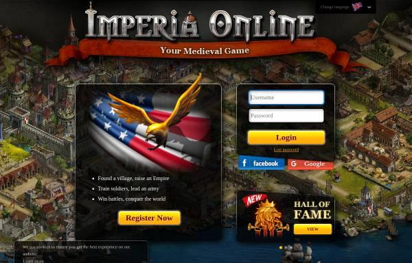 Vorschau von www.imperiaonline.org, Imperia Online