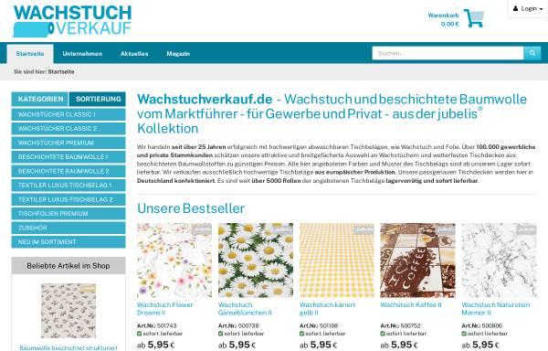 Vorschau von www.wachstuchverkauf.de, Burghard Kuhlemann e. K.