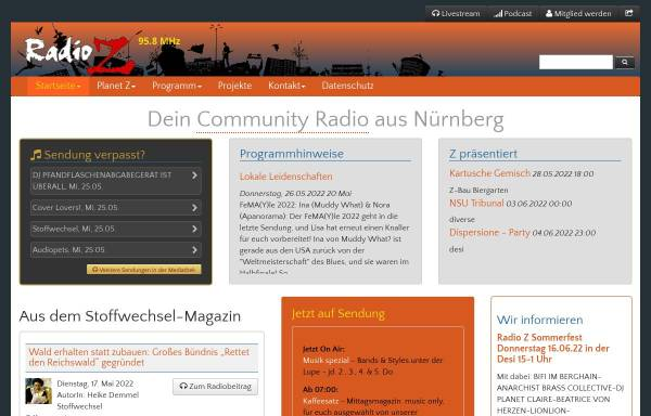 Vorschau von www.radio-z.net, Radio Z