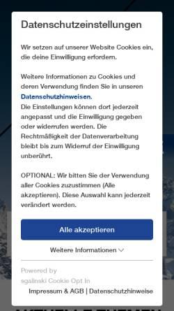 Vorschau der mobilen Webseite www.leitner-lifts.com, Leitner G.m.b.H.