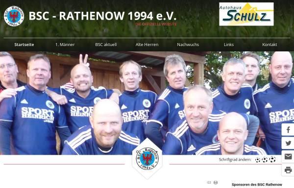 Vorschau von www.bsc-rathenow.de, BSC Rathenow 1994 e.V.