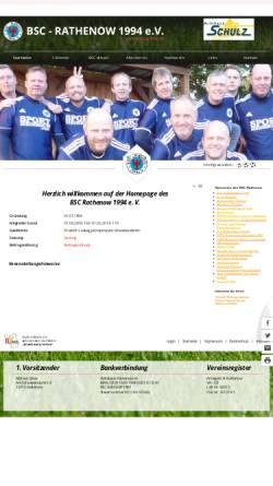 Vorschau der mobilen Webseite www.bsc-rathenow.de, BSC Rathenow 1994 e.V.