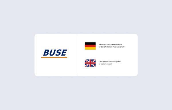 Vorschau von www.buse.cz, Buse GmbH