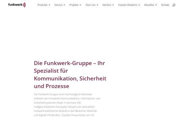 Vorschau von www.funkwerk-itk.com, Funkwerk Information Technologies Karlsfeld GmbH
