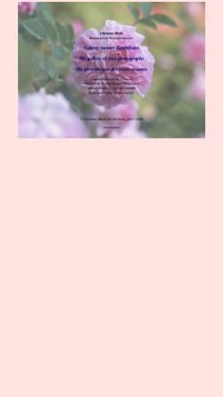 Vorschau der mobilen Webseite www.rosenfoto.de, Galerie mit Rosenfotos
