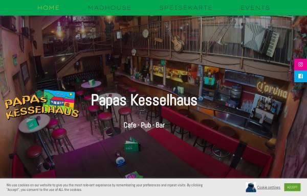 Vorschau von www.kesselhaus-madhouse.de, Papas Kesselhaus