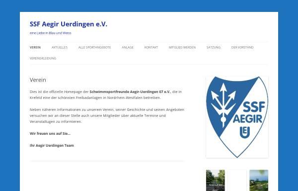 Vorschau von www.aegir-uerdingen.de, SSF Aegir Uerdingen 07 e.V.