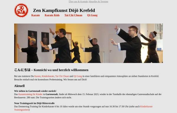 Vorschau von www.zen-kampfkunst-krefeld.de, Zen Kampfkunst Dojo Krefeld