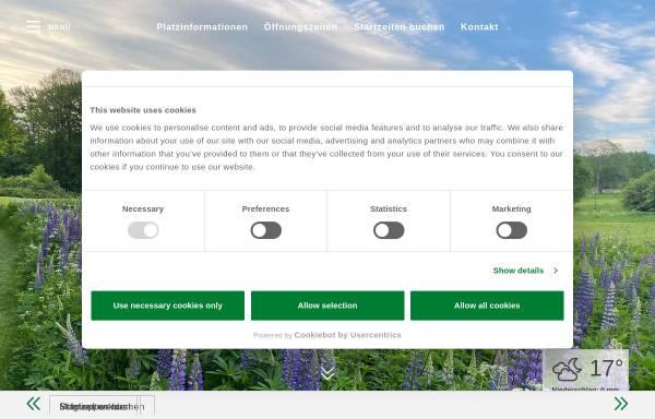 Vorschau von www.bielefelder-golfclub.de, Bielefelder Golfclub