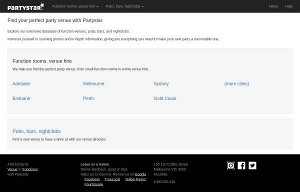 Vorschau von www.melbournepubs.com, Kneipen, Bars und Diskotheken in Melbourne