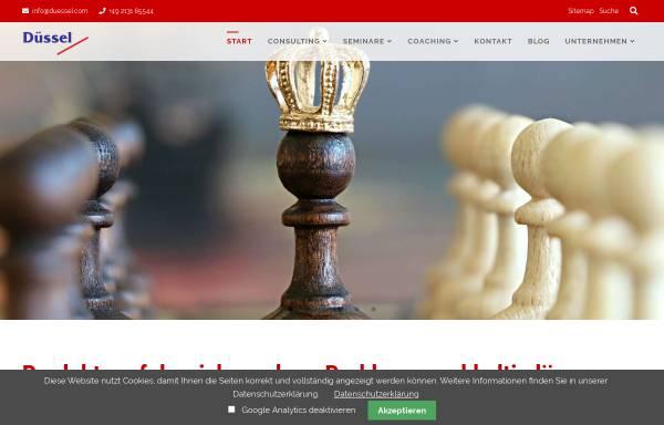 Vorschau von www.duessel.com, Mirko Düssel & Co.Unternehmensberater