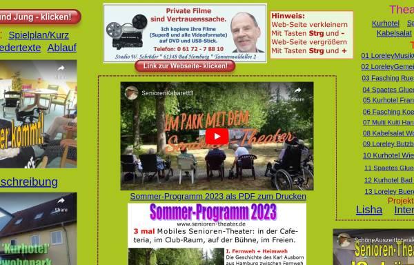 Vorschau von www.senioren-theater.de, Mobiles Senioren-Theater
