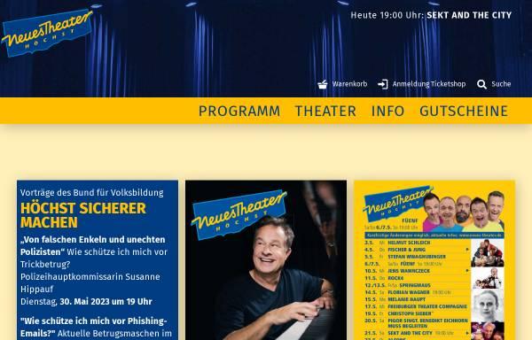 Vorschau von www.neues-theater.de, Neues Theater Höchst